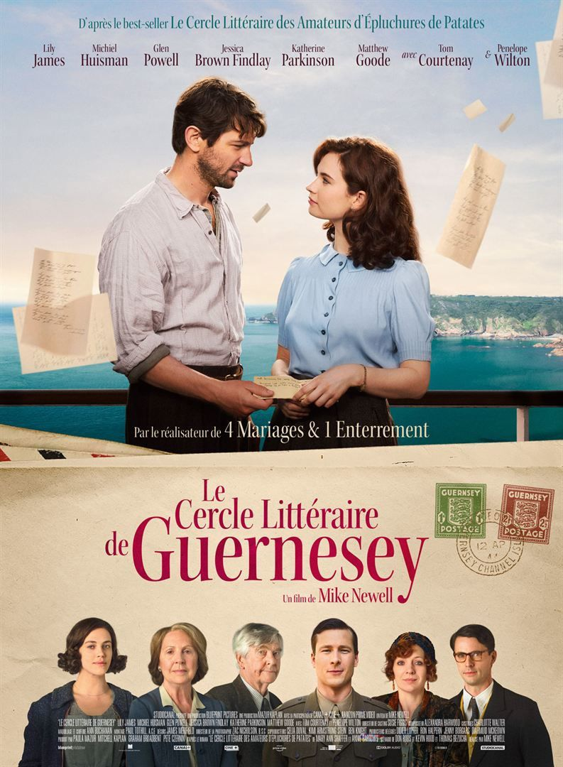 Le Cercle littéraire de Guernesey / CINEMA /  Mike Newell. 2018