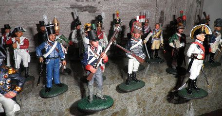FIGURINES 1ER EMPIRE / COLLECTION DEL PRADO