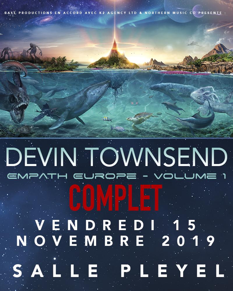 COMPLET! Devin Townsend jouera à Pleyel à guichet fermé / ACTUALITE CONCERTS