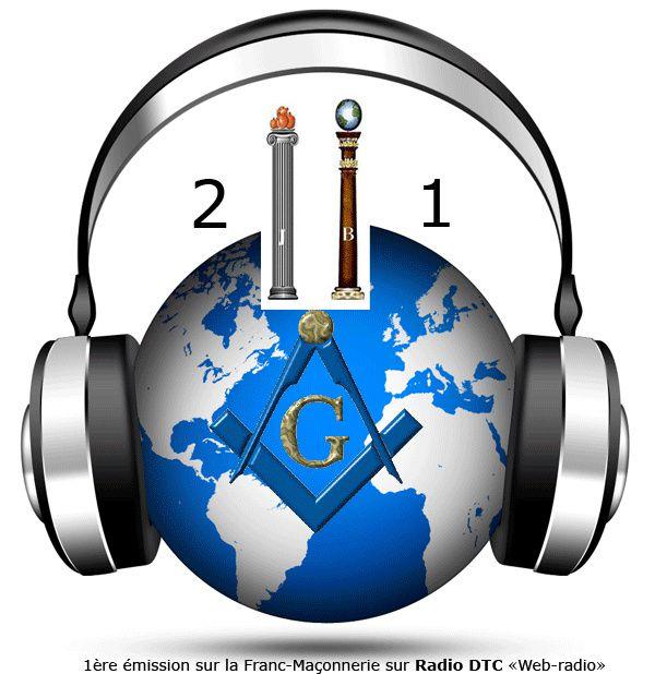 2 colonnes à la 1, 1ère émission de webradion consacrée à la Franc-Maçonnerie