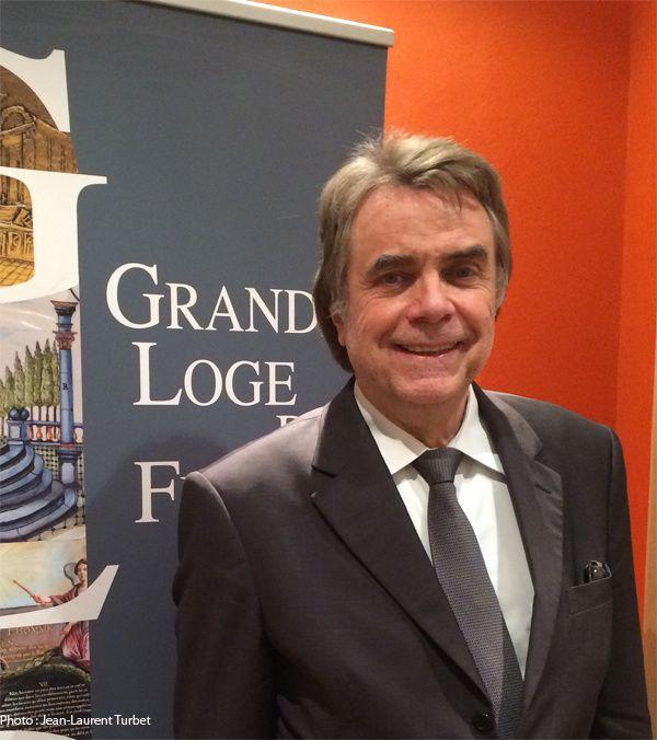 Alain Graesel, ancien Grand-Maître de la Grande Loge de France