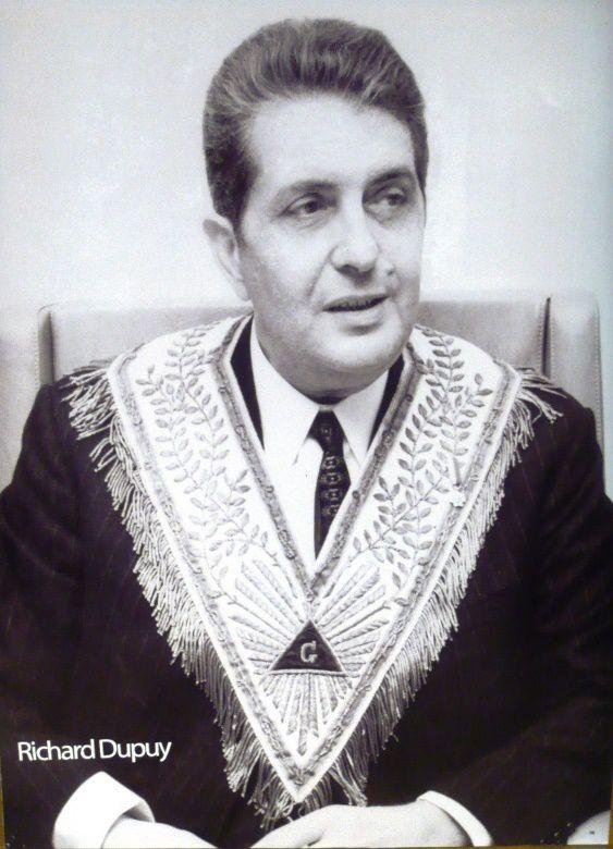 Richard Dupuy, Grand-Maître de la Grande Loge de France.