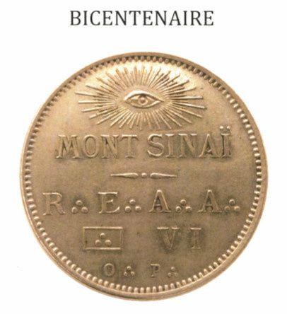 Bicentenaire du Mont Sinaï N°6, une loge de la Grande Loge de France.