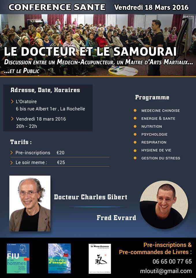 Le docteur et le samouraï, le 18 mars 2016 à La Rochelle
