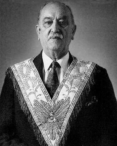 GLDF : Discours du Grand Maître Georges Marcou lors du Convent de septembre 1981.