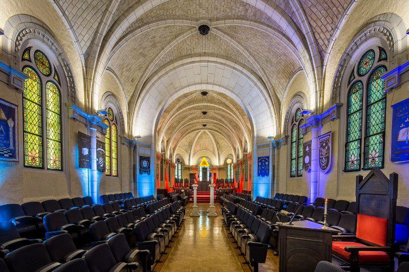 Le temple Pierre Brossolette magnifiquement photographié par Ronan Loaëc