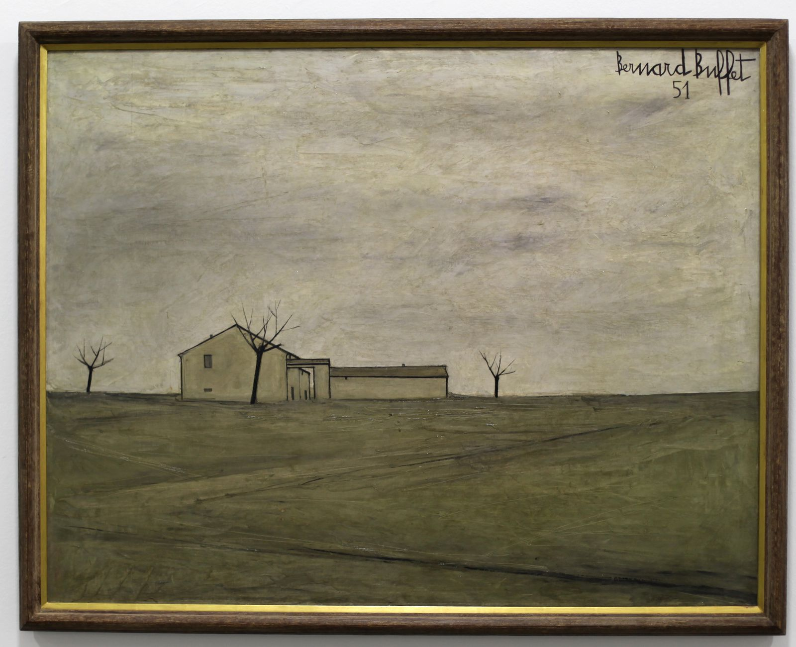 """Nanse"", 1951 de Bernard BUFFET - Courtesy Musée B. Buffet © Photo Éric Simon"