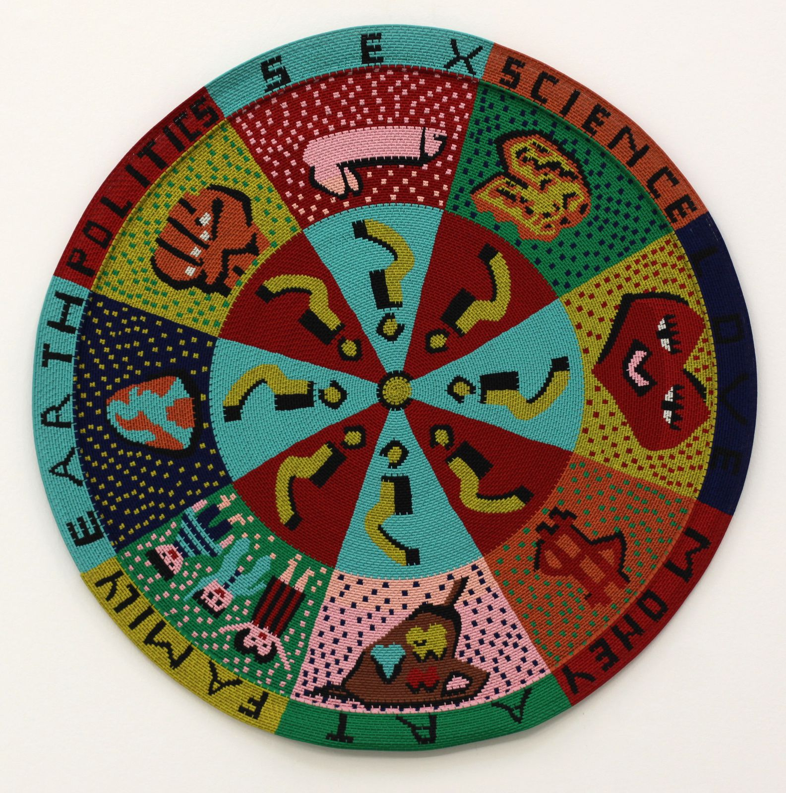 """Wheel of Life (DURBAN)"", 2000 d'Hervé DI ROSA - Courtesy de l'artiste © Photo Éric Simon"