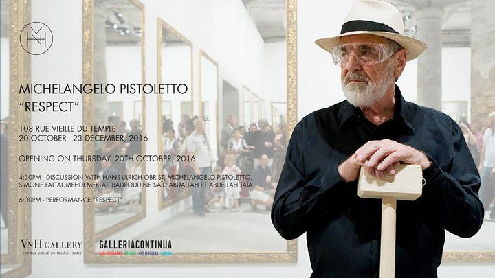 Expo Installation Contemporaine: Michelangelo PISTOLETTO « Respect »