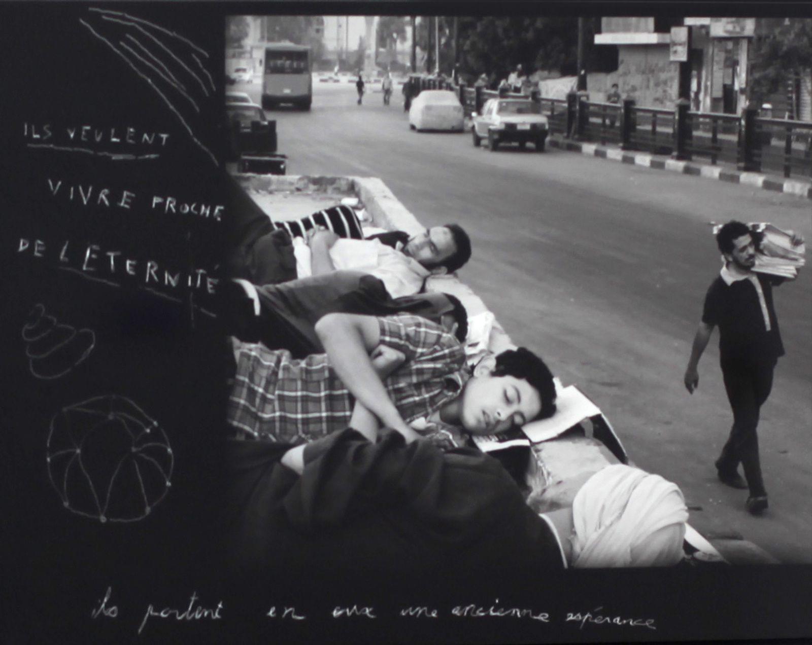"""""""Printemps Arabe"""", 2011-2013 de Louis JAMMES - Courtesy Galerie Rabouan Moussion © Photo Éric Simon"""