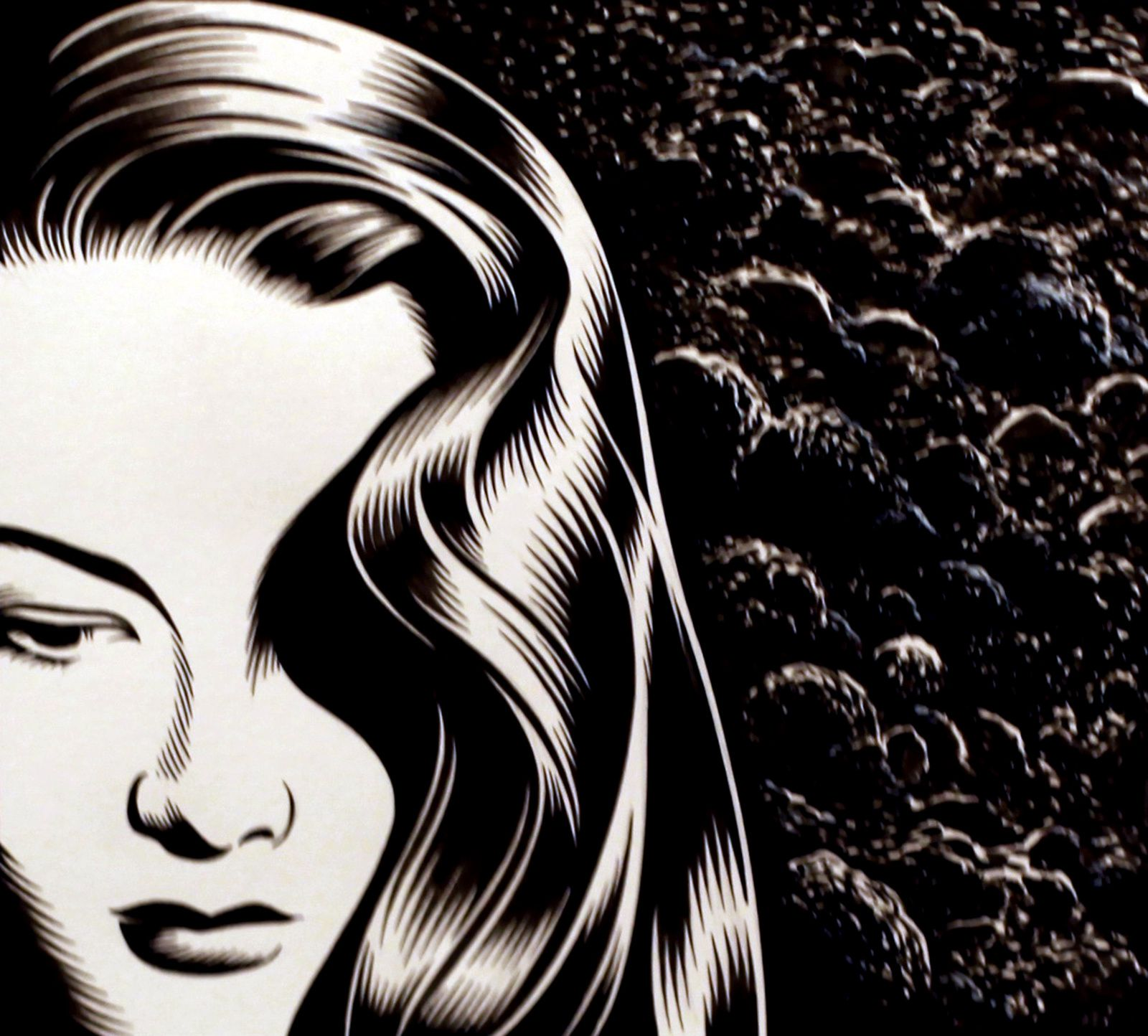 Charles BURNS - Courtesy Galerie Martel © Photo Éric Simon
