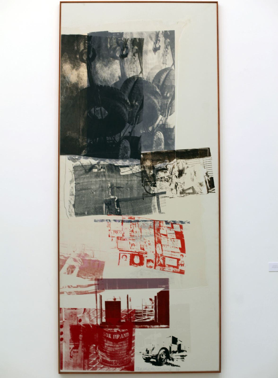 """Untitled (Salvage)"", 1984 de Robert RAUSCHENBERG - Courtesy Galerie Thaddaeus ROPAC © Éric Simon"