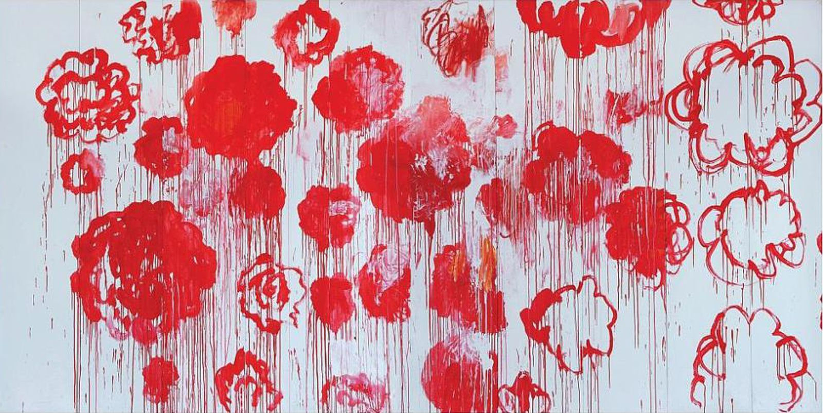 Cy TWOMBLY at Pompidou Center
