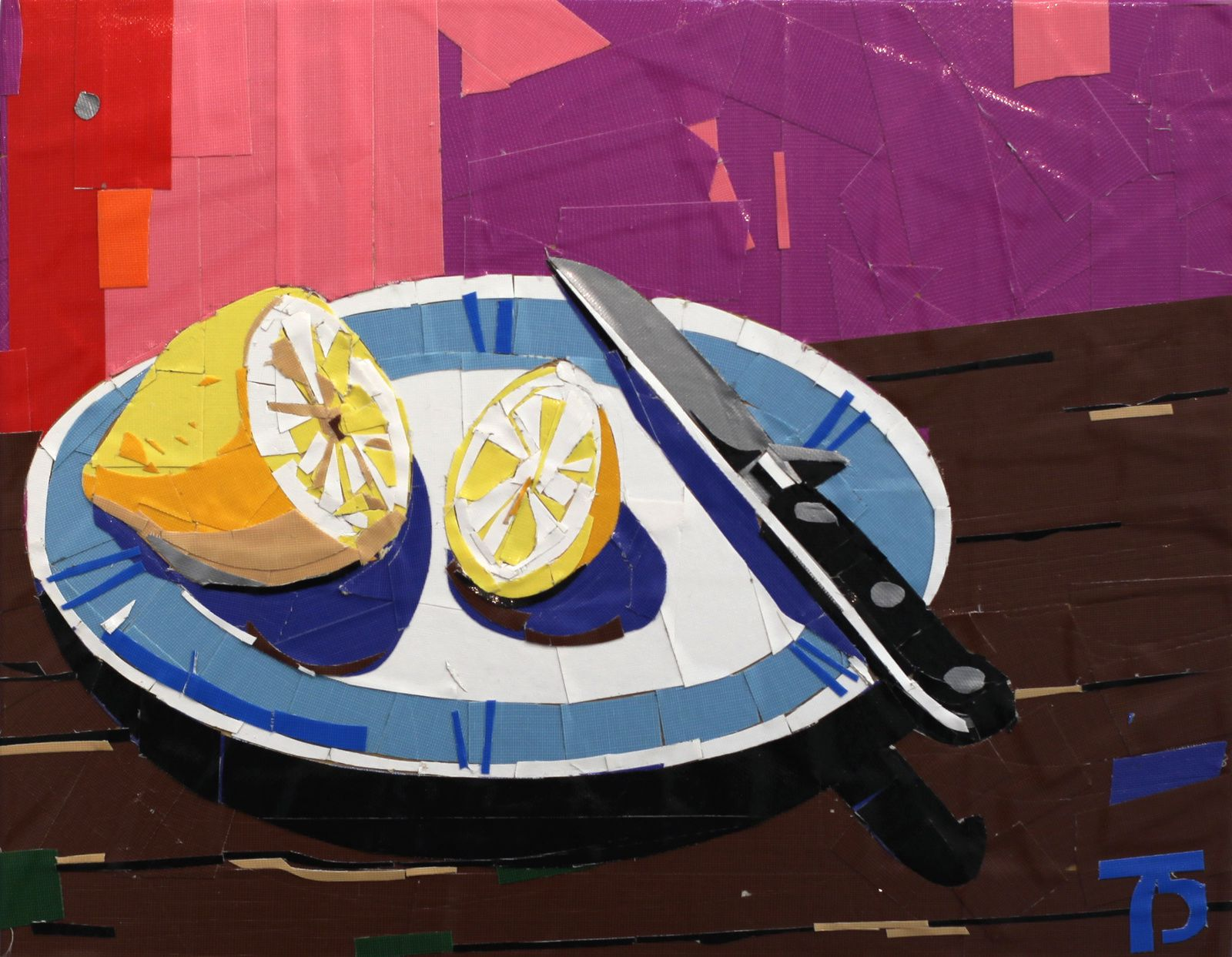 """Nature Morte au citron"", 2016 de Mikhail MARGOLIS - Courtesy Galerie CHARLOT © Photo Éric Simon"