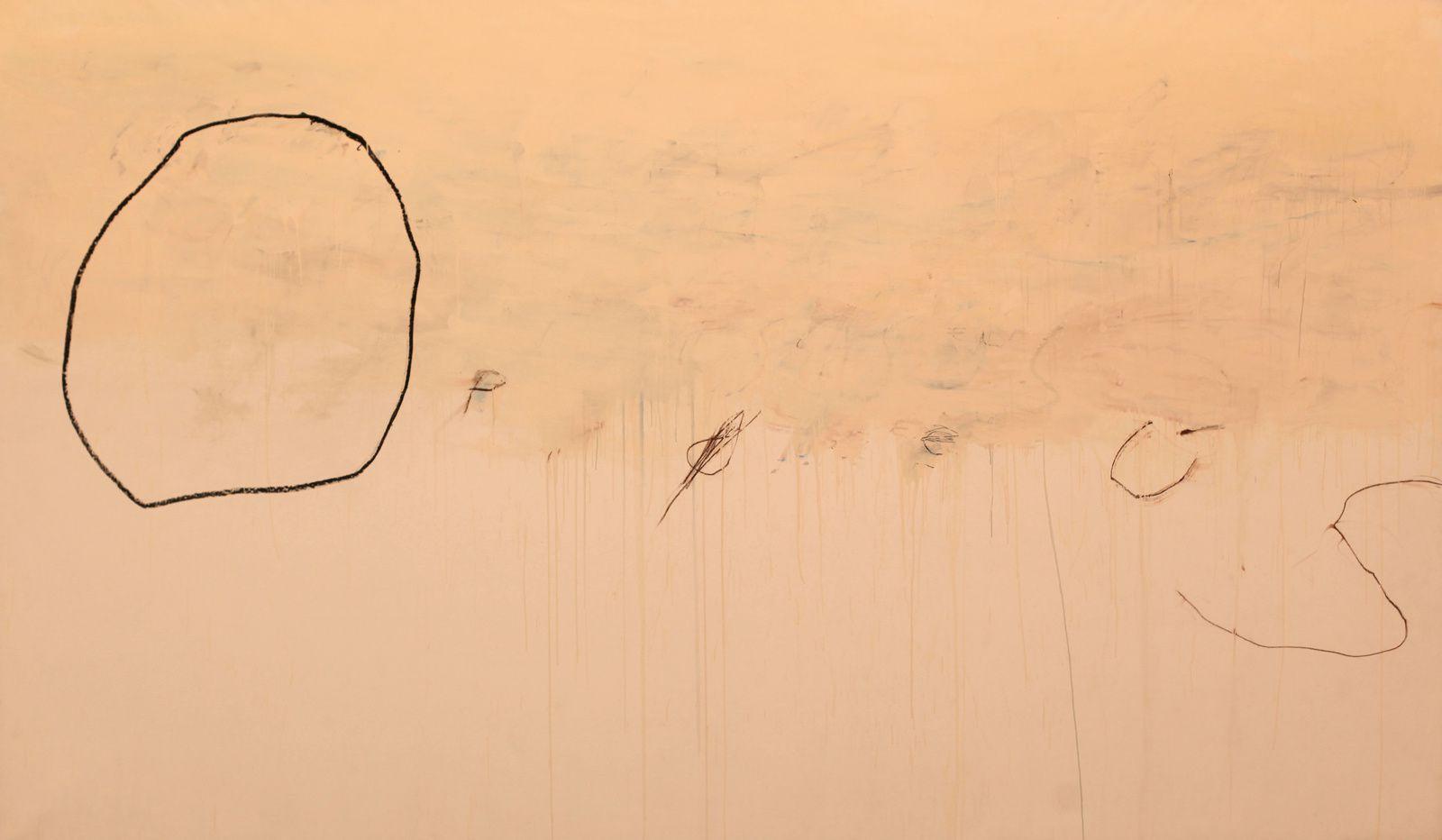 """""""Opheus"""", 1979 de Cy TWOMBLY - Gallery GARGOSIAN © Photo Éric Simon"""