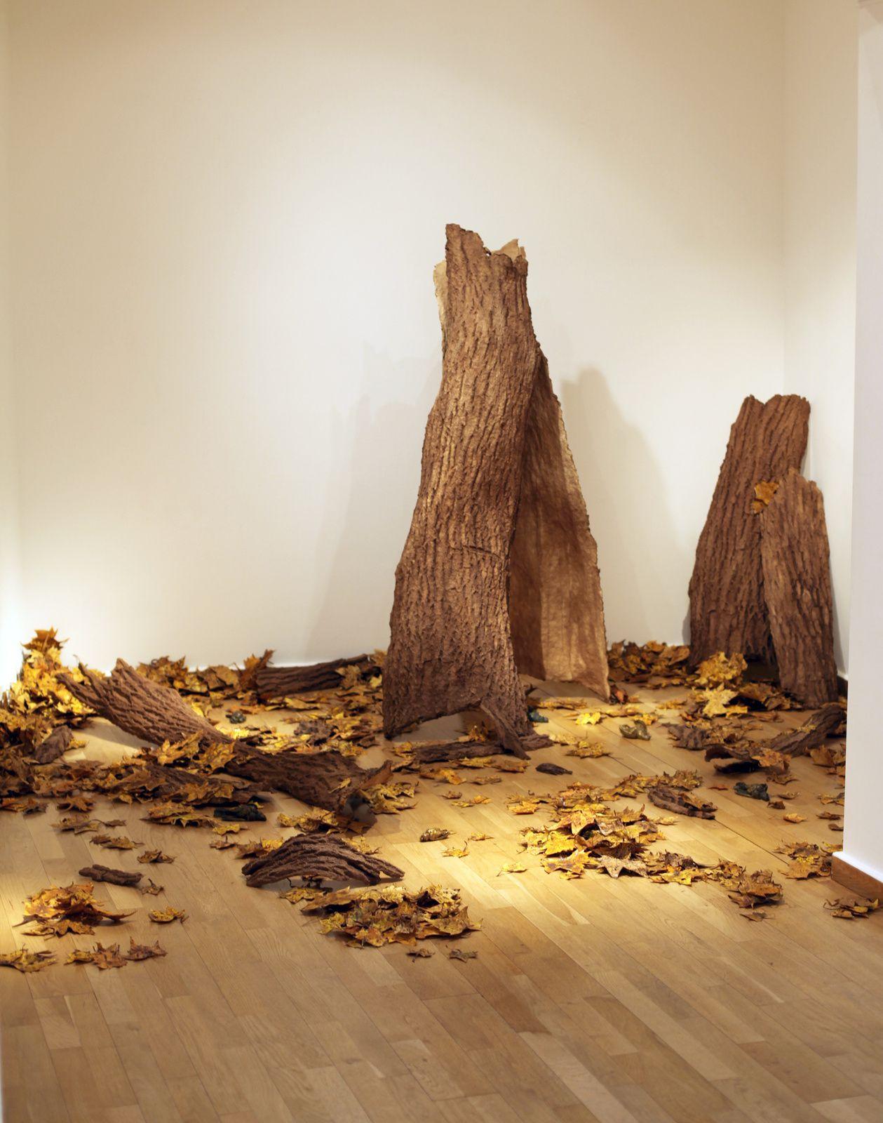 """Installation """"Nature Morte"""", 2015 de David DÉCAMP - Courtesy Galerie la Forest Divonne  © Photo Éric Simon"""