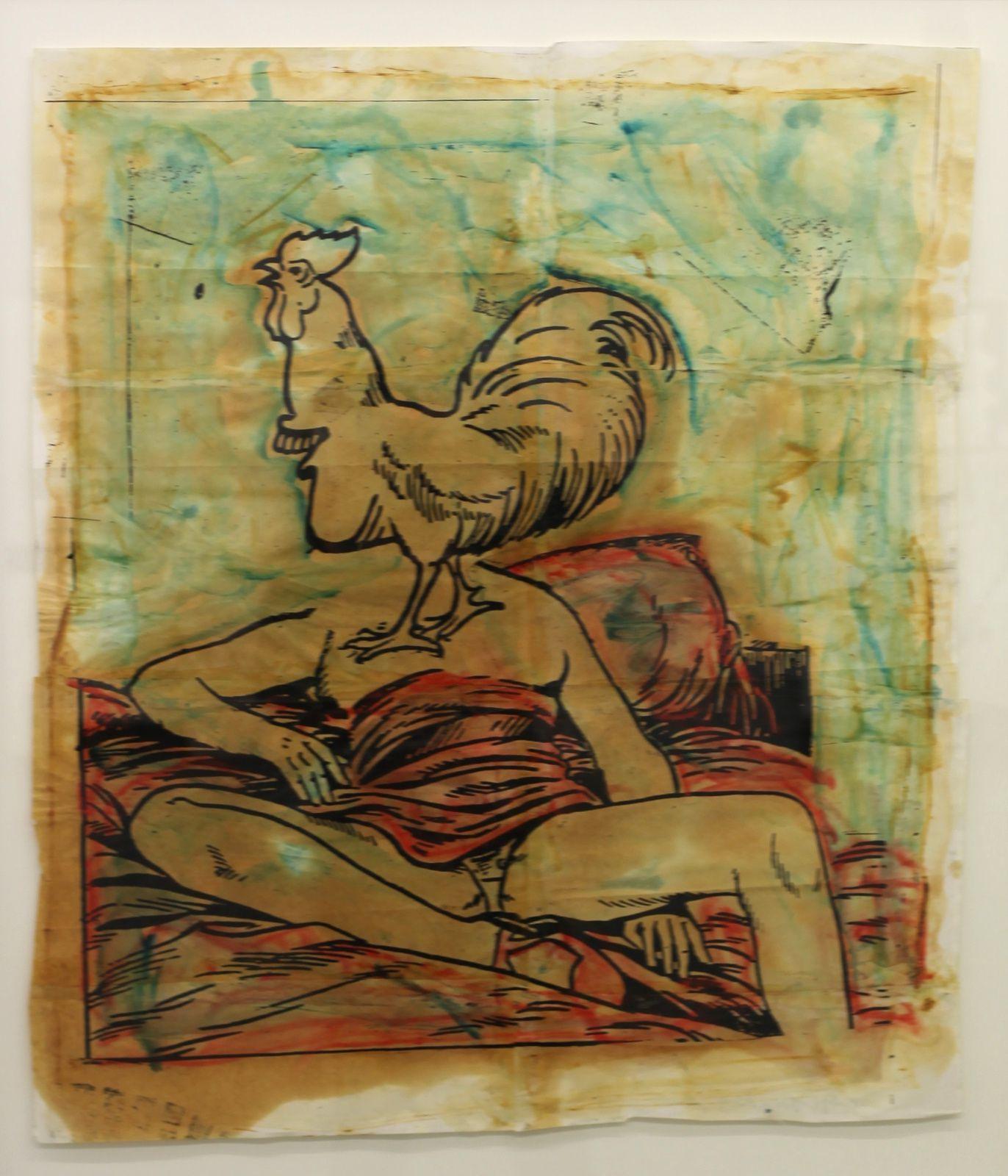 """She sand to rare reggae"", 2005 de Steve GIANAKOS - Courtesy Galerie Semiose © Photo Éric Simon"