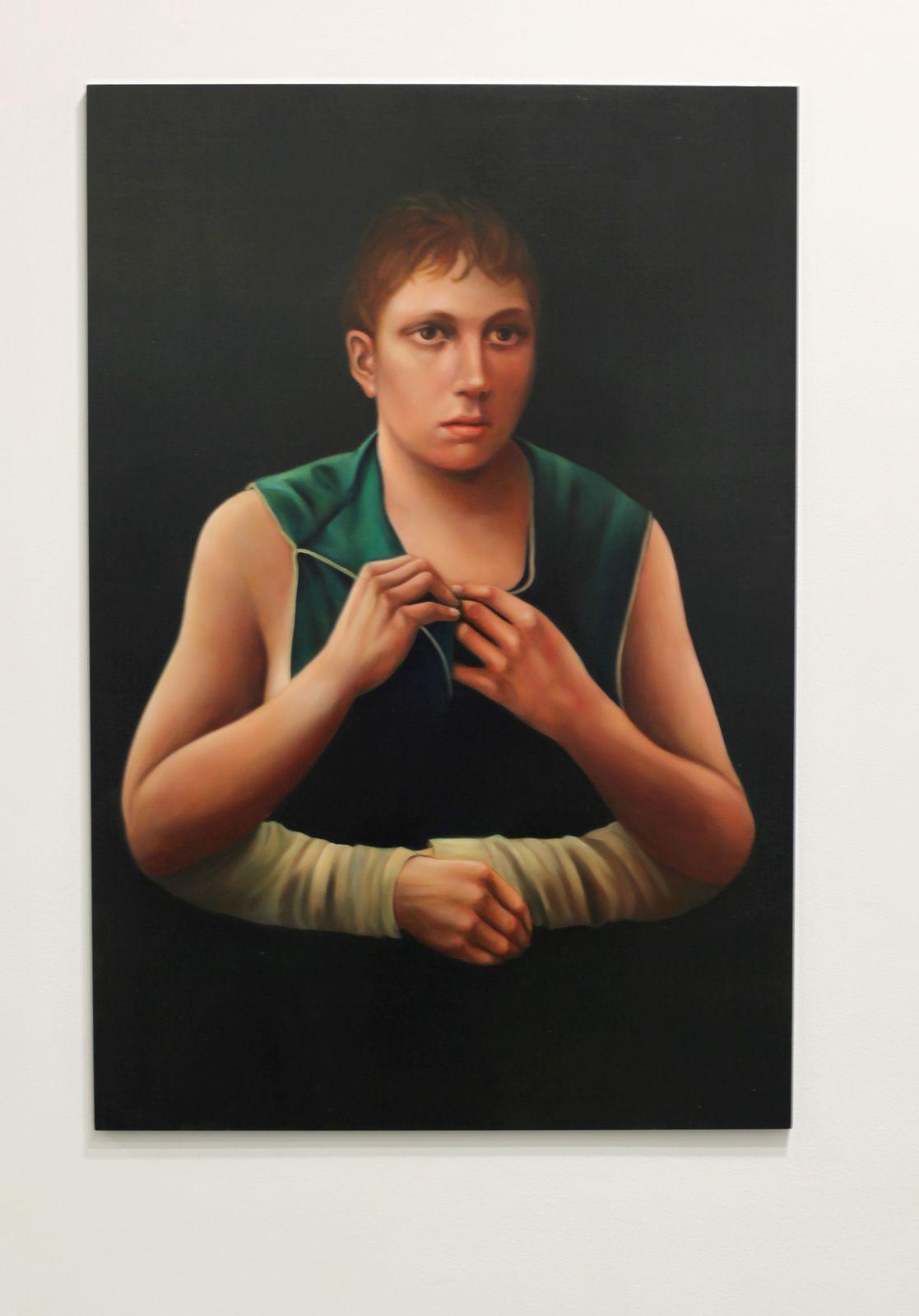 """V.A."", 2016 de Sophie KUIJKEN - Courtesy Galerie Nathalie OBADIA © Photo Éric Simon"