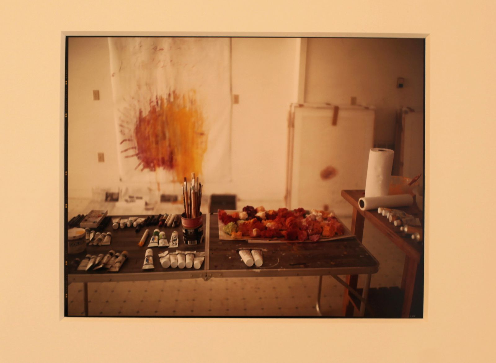 """Remembered Light, Untitled (Brushes and Sunburst)"", 1999 de Sally MANN - Courtesy Gagosian Gallery © Photo Éric SIMON"