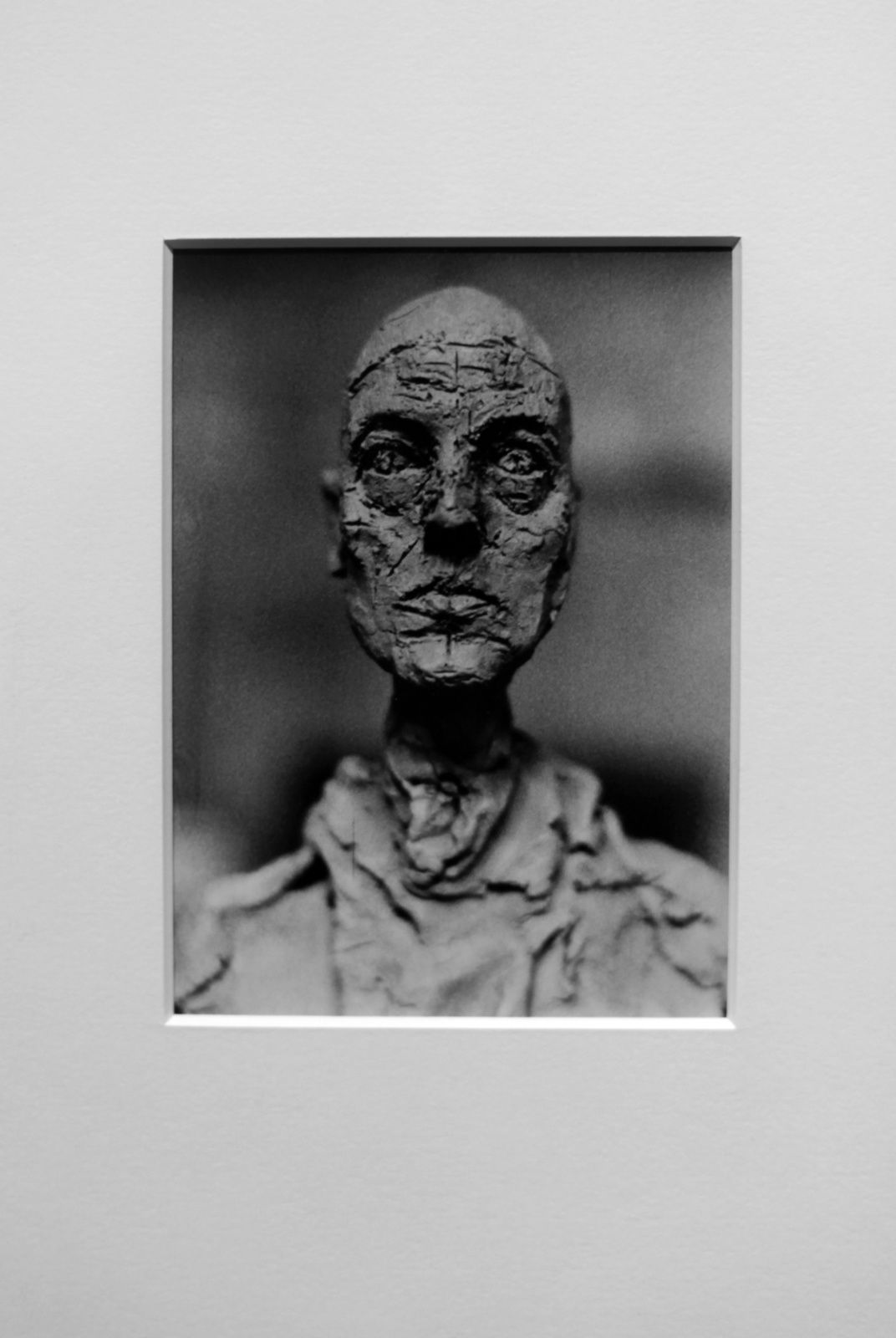 """Giacometti, Buste de LOTAR"", 1965 de Eli LOTAR - Courtesy Centre Pompidou, Paris © Photo Éric Simon"