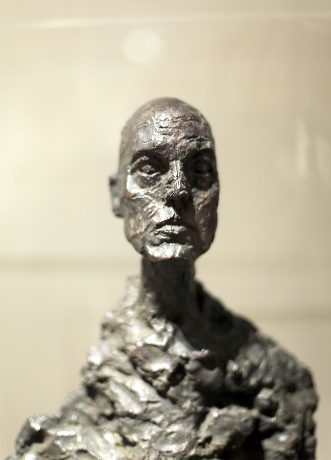 """Giacometti, Buste de LOTAR"" © Photo Éric Simon"