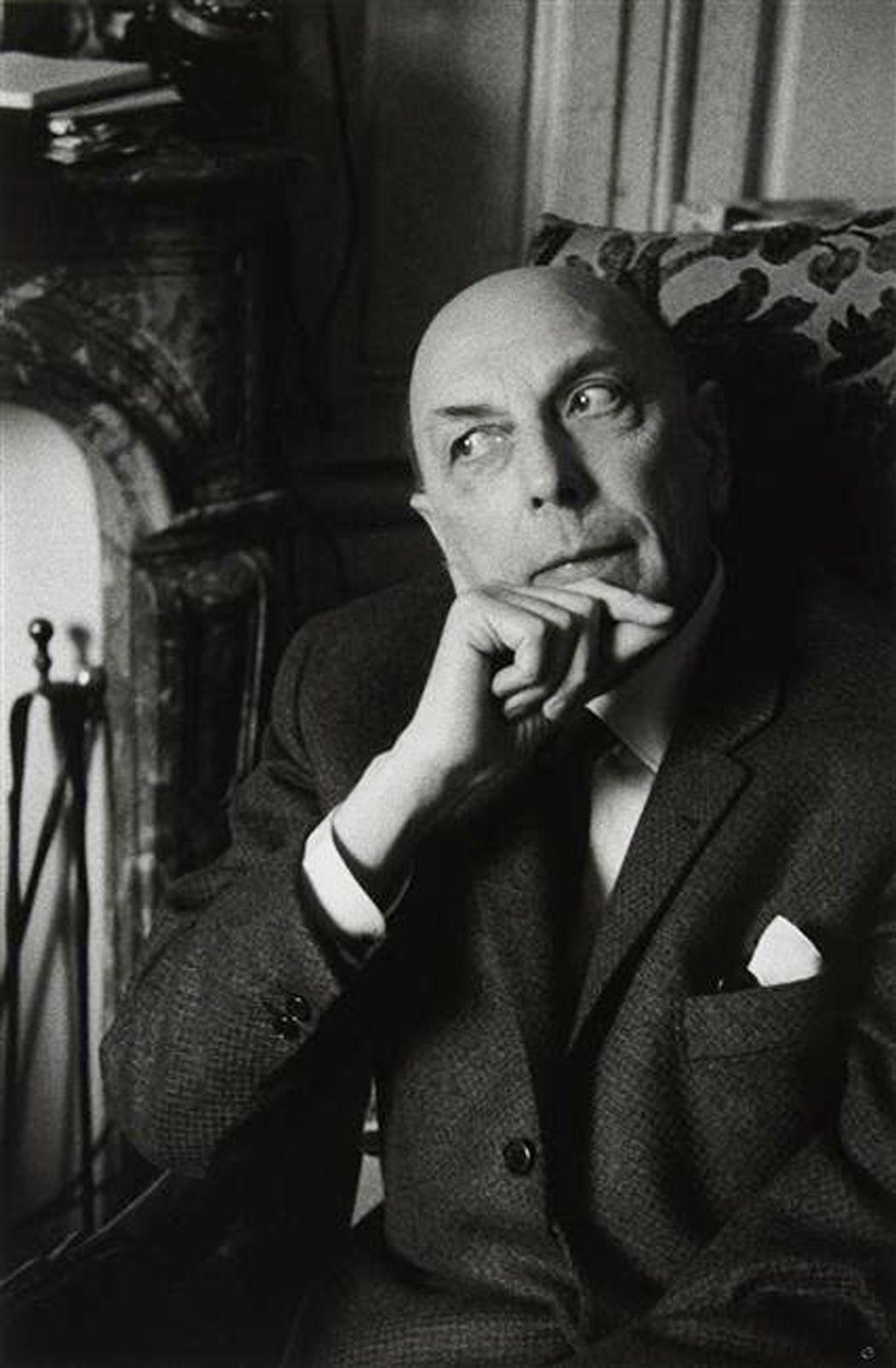 """""""Henri Michaux"""", 1964 de Gisèle FREUND"""