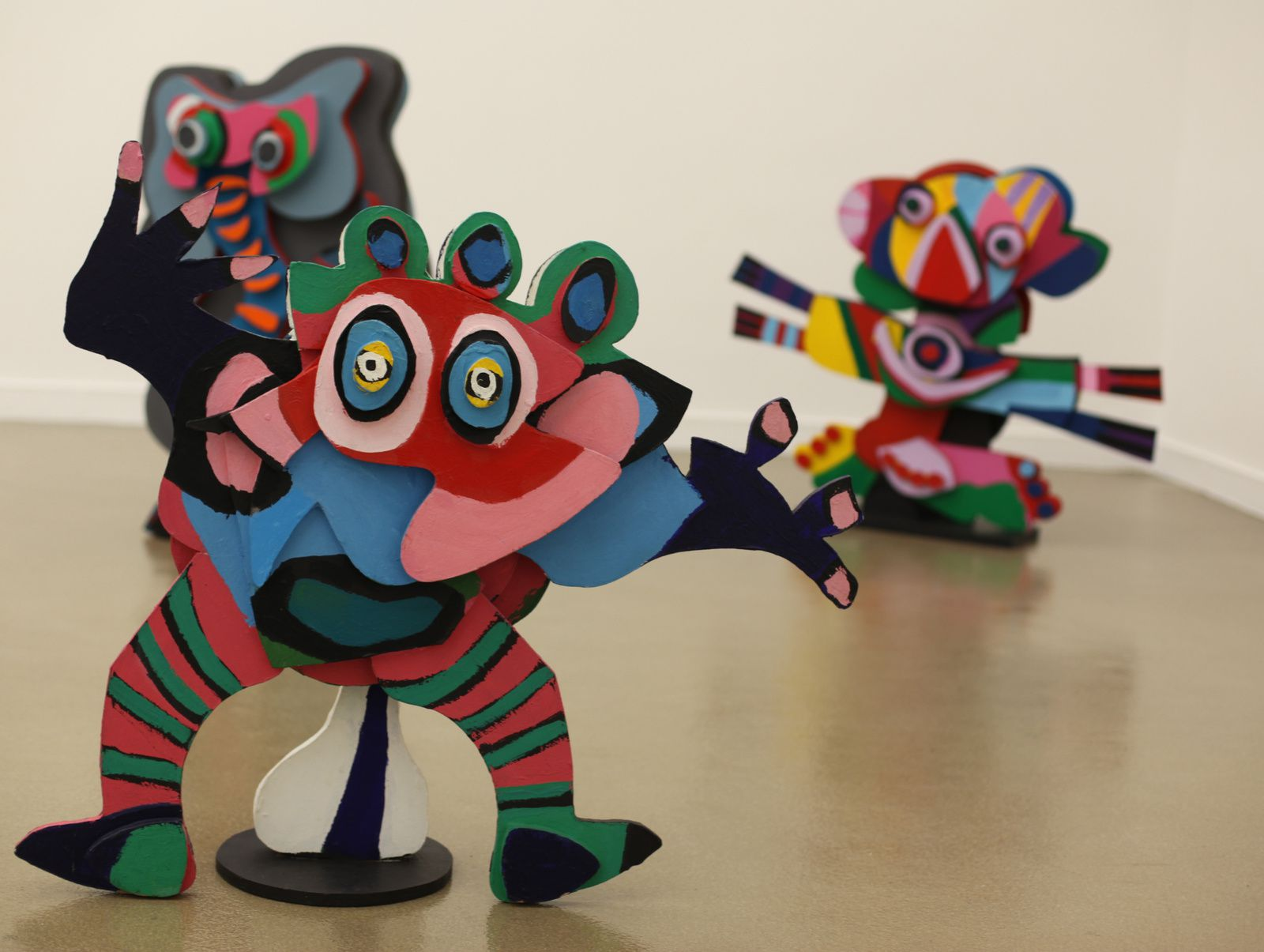 """Le Cirque"", 1978 de Karel APPEL - Courtesy Association l'Art Contemporain© Photo Éric Simon"