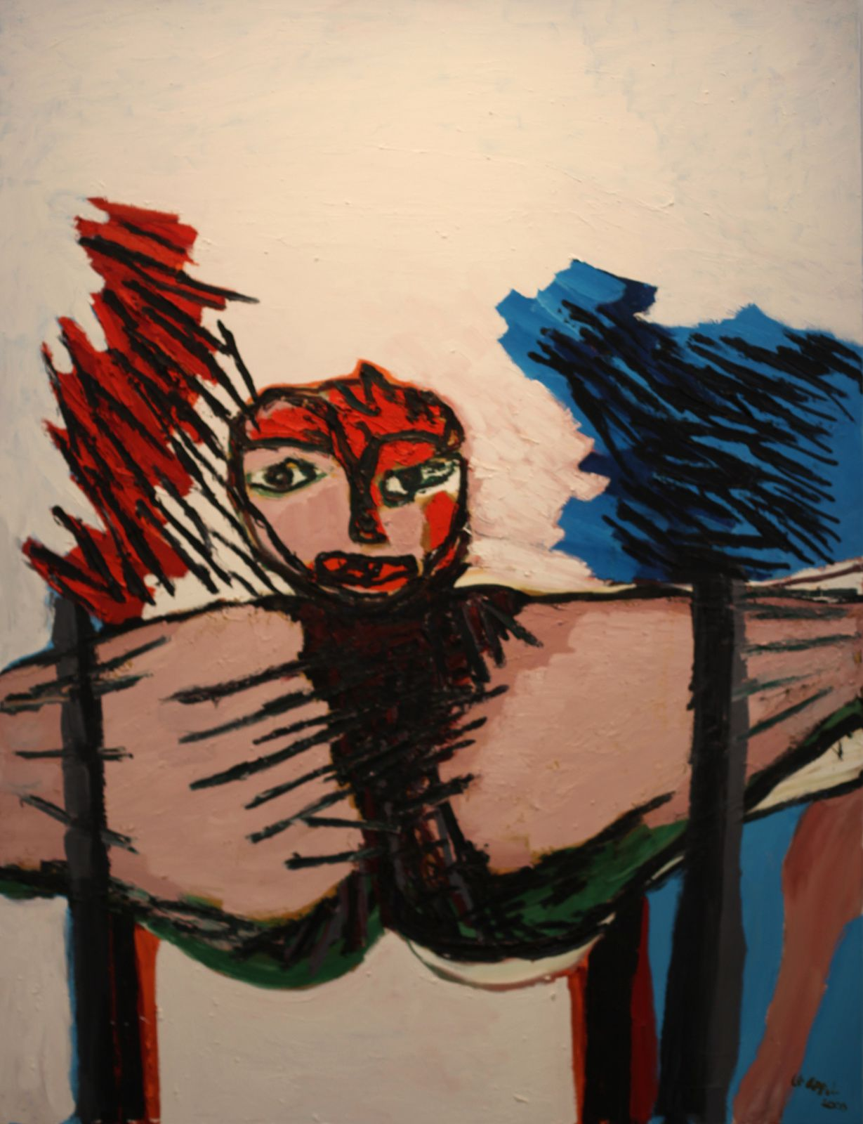 """Waiting Woman"", 2000 de Karel APPEL - Courtesy MAM © Photo Éric Simon"