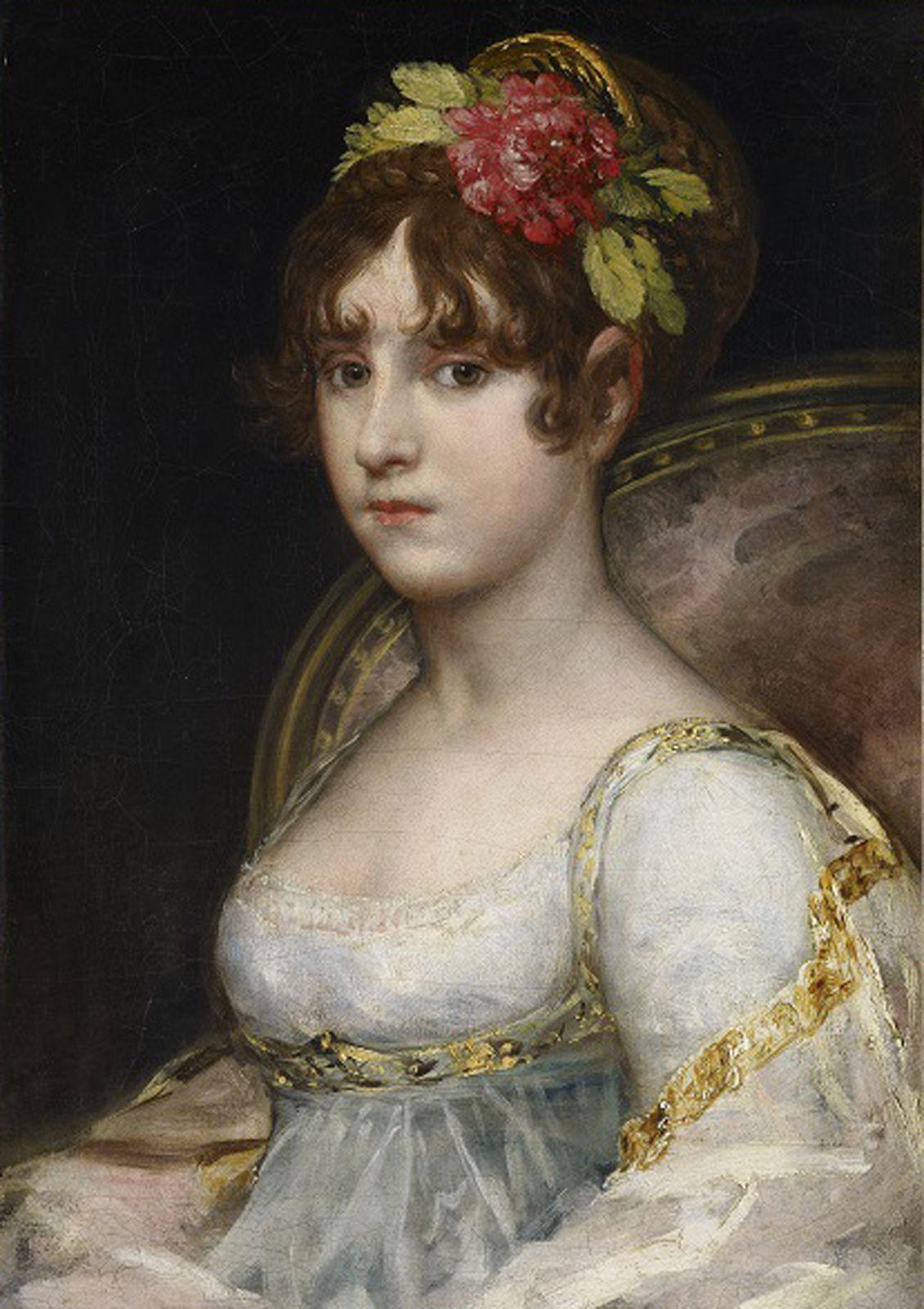 """""""Portrait de la contesse de Haro"""", vers 1802-1803 de Francesco de Goya y Lucientes - Courtesy Collection Alicia KOPLOWITZ - Grupo Omega Capital"""