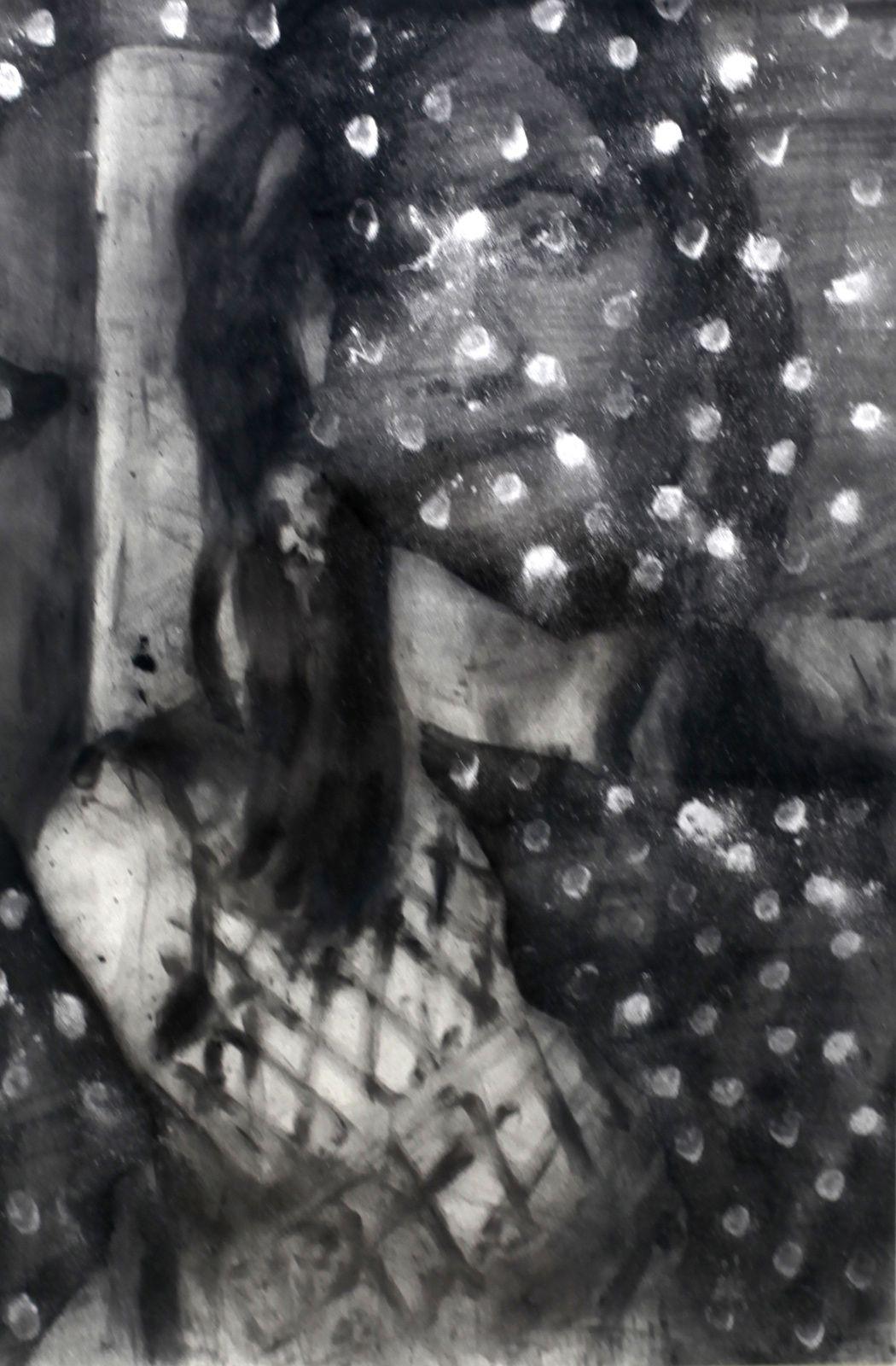 """""""Portrait de Garance #47"""", 2017 de Jérôme ZONDER - Courtesy de l'Artiste et Galerie Eva Hober © Photo Éric Simon"""