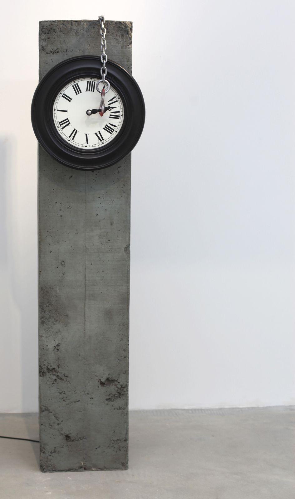"""id-od 5"", 2014-2015 Sculpture Interactive de Sunil GAWDE - Courtesy Galerie Rabouan Moussion © Photo Éric Simon"