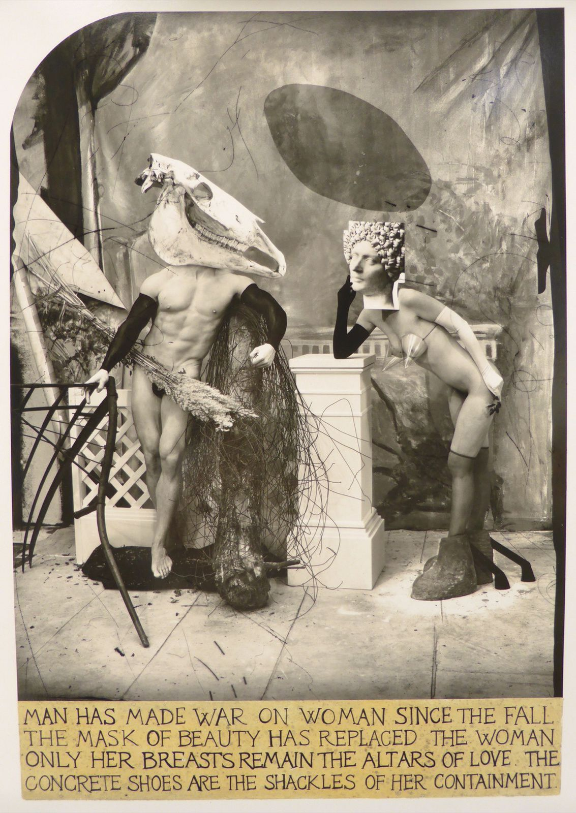 """Planet of  confused love"", 2016 de Joel-Peter Witkin - Courtesy Galerie Baudoin Lebon"