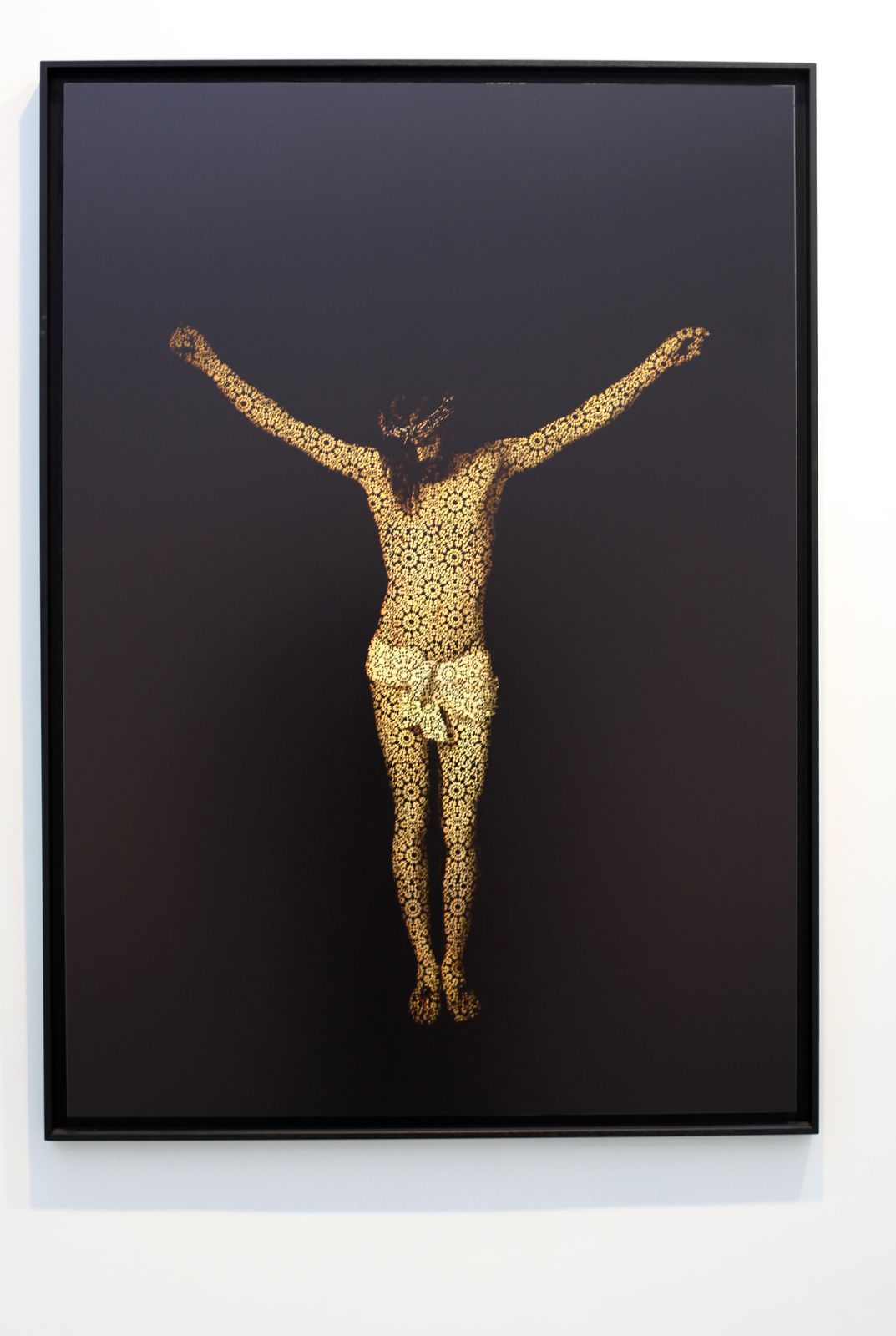 """It's more sexy ou Christ (Velazquez)"", 2014 de Mehdi Georges LAHLOU -  Courtesy Galerie Rabouan Moussion  © Photo Éric Simon"