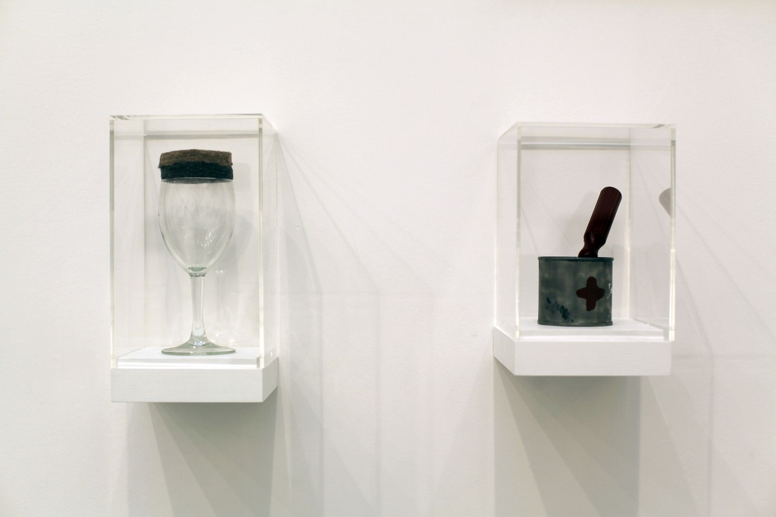 """Beuys Fluxus Drinki"", 1993 de STURTEVANT - Courtesy Galerie Ropac © Photo Éric Simon"