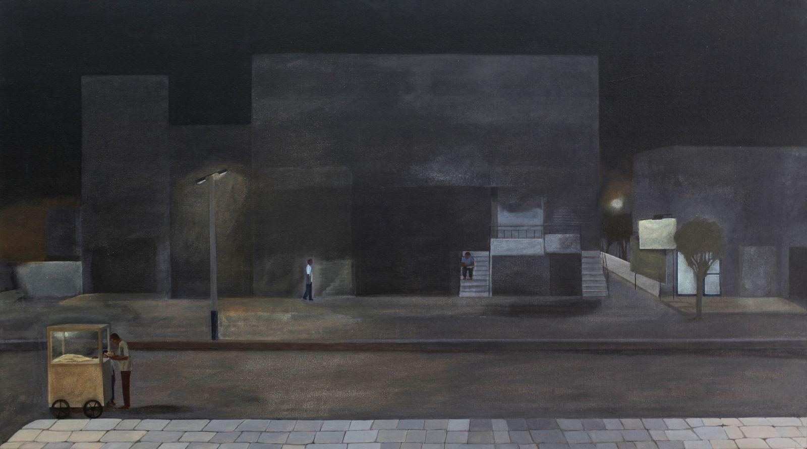 """""""Night Walks-Baroda"""", 2008 de Karishma D'SOUZA - Courtesy Galerie Xippas © Photo Éric Simon"""