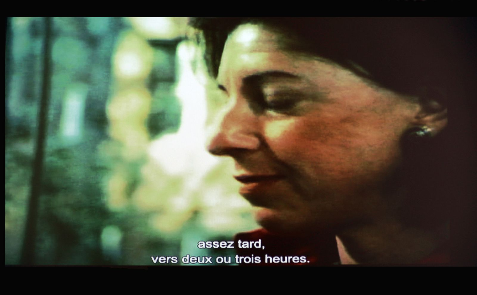 """Photo Tiré du film """"FRANKENTHALER: Toward a New Climate"""", 1978 directed by Perry Miller Adato - Courtsey WNET, New York. © Photo Éric Simon"""