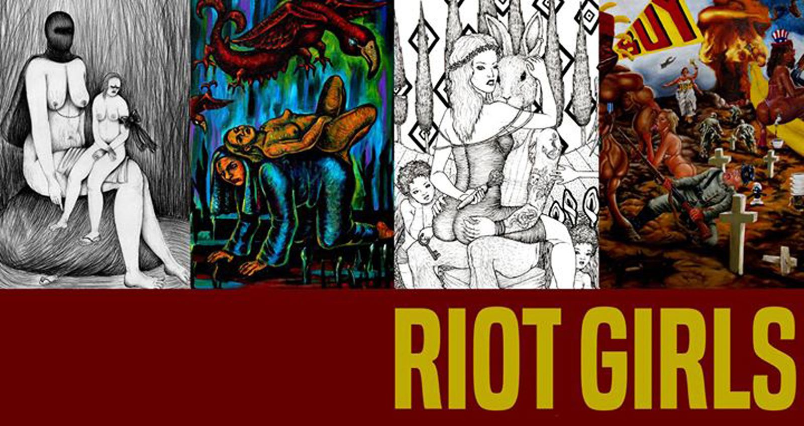 Expo Illustrations Contemporaine: RIOT GIRLS