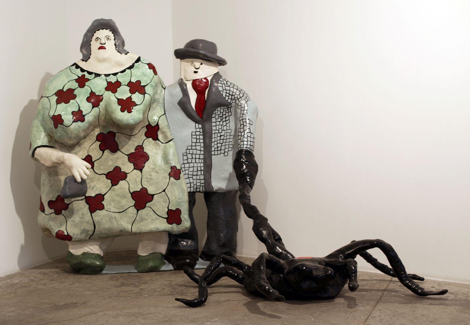 """""""La promenade du dimanche"""", 1971 de Niki de SAINT PHALLE - Courtesy Galerie Georges Philippe et Nathalie VALLOIS © Photo Éric Simon"""