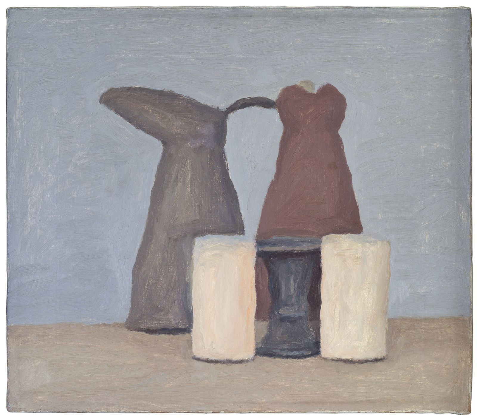 """Natura morta"", 1962 de Giorgio MORANDI - Courtesy Collection Privée"