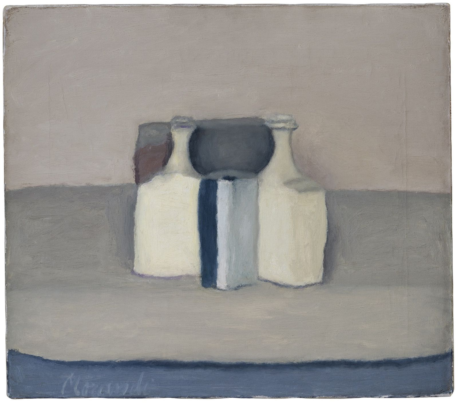 """Natura morta"", 1958 de Giorgio MORANDI - Courtesy Collection Privée"