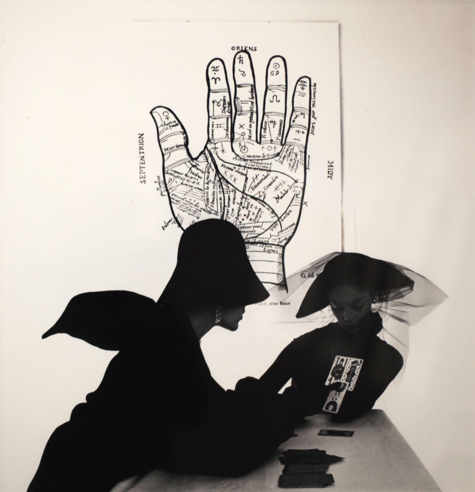"""The Tarot Reader, New York"", 1949 de Irving PENN"