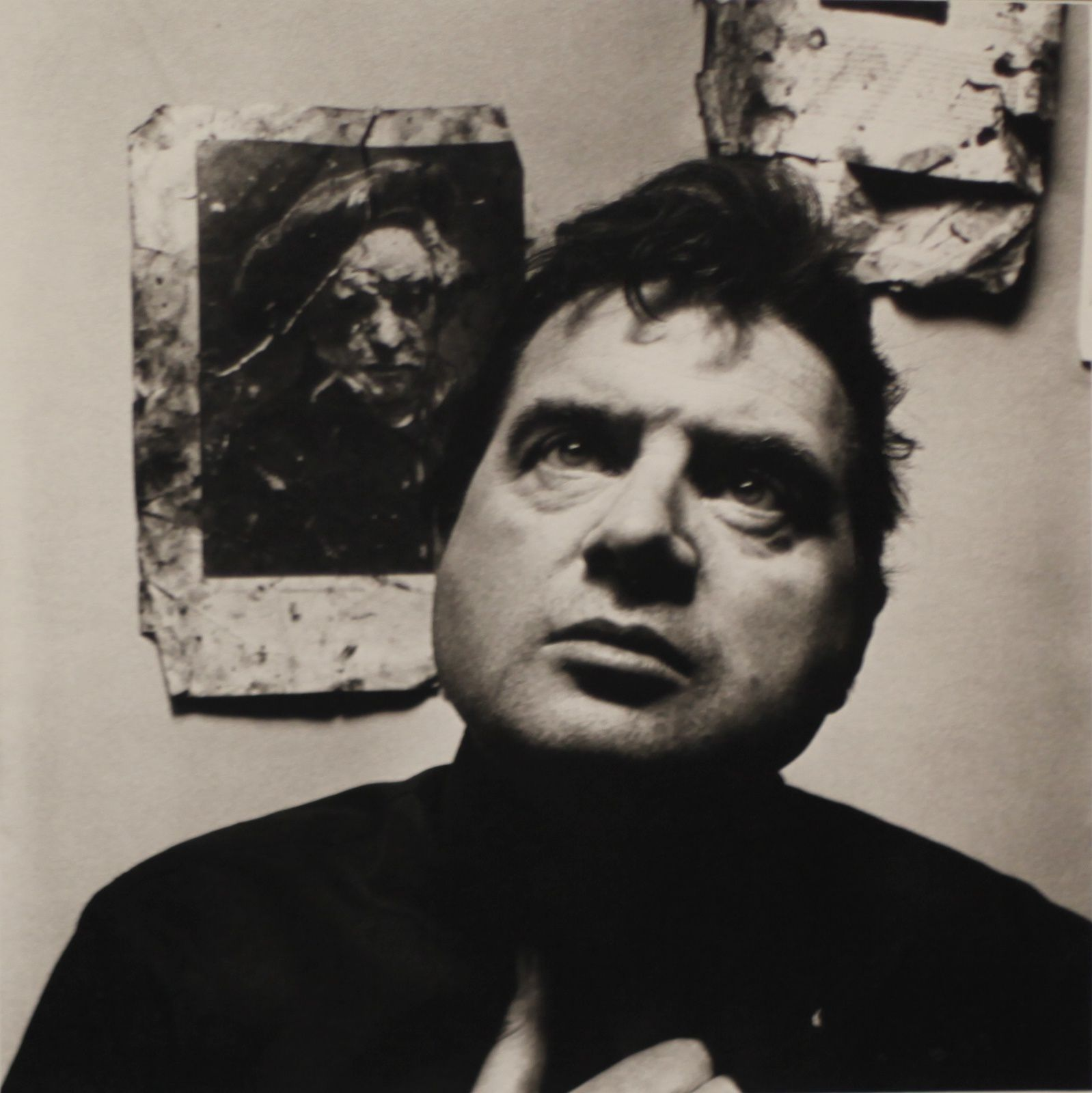 """Francis Bacon, Londres"", 1962 d'Irving PENN - Courtesy The Metropolitan Museum of Art"