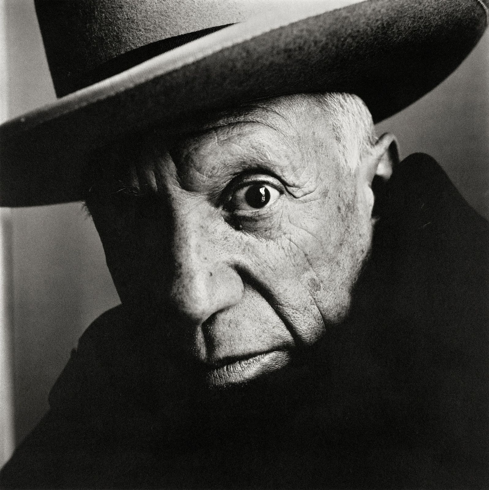 """Pablo Picasso"", 1962 d'Irving PENN - Courtesy The Metropolitan Museum of Art"