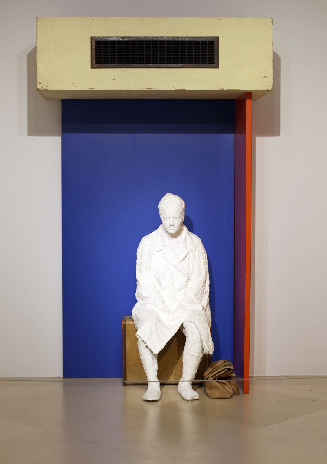 """The Bus Station"", 1965 de George SEGAL  - Courtesy Whitney Museum of American Art © Photo Éric Simon"