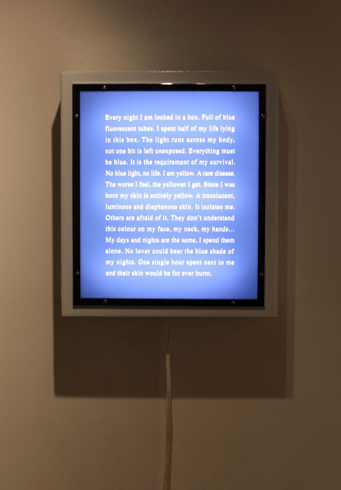 """Crigler-Najjar"", 2006 d'Agnès GEOFFRAY - Courtesy Galerie Maubert  © Photo Éric Simon"