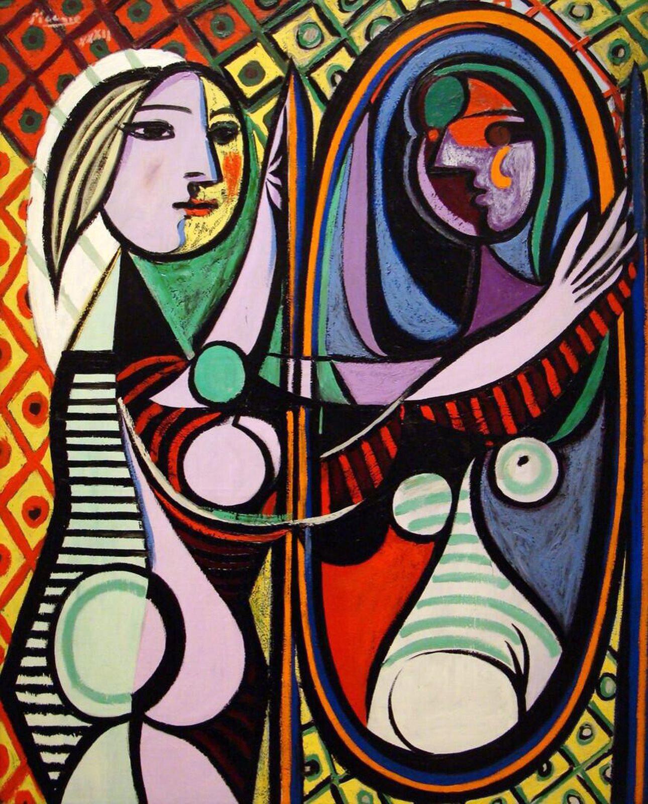 """Femme devant un miroir"", 1932 de Pablo PICASSO - Courtesy High Museum of Art, Atlanta, USA"