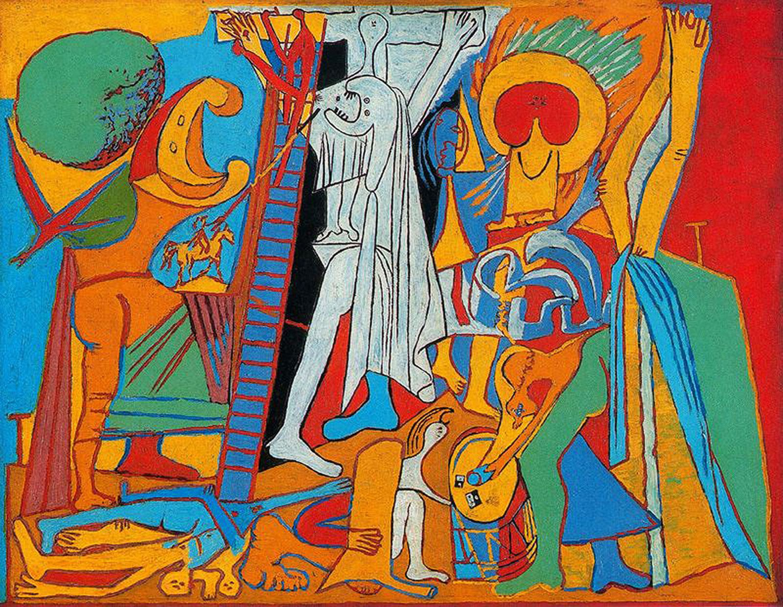 """Crucifixion"", 1930 de Pablo PICASSO - Courtesy Musée National Picasso-Paris © Succession Picasso"
