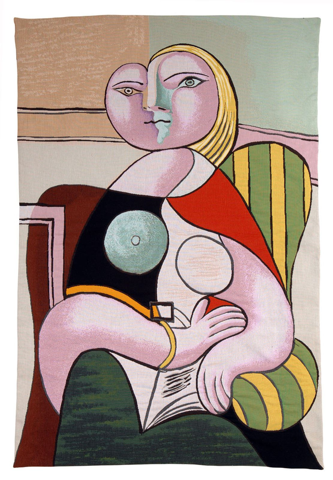 """La lecture"", 1932 de Pablo PICASSO - Courtesy Musée National Picasso-Paris © Succession Picasso"