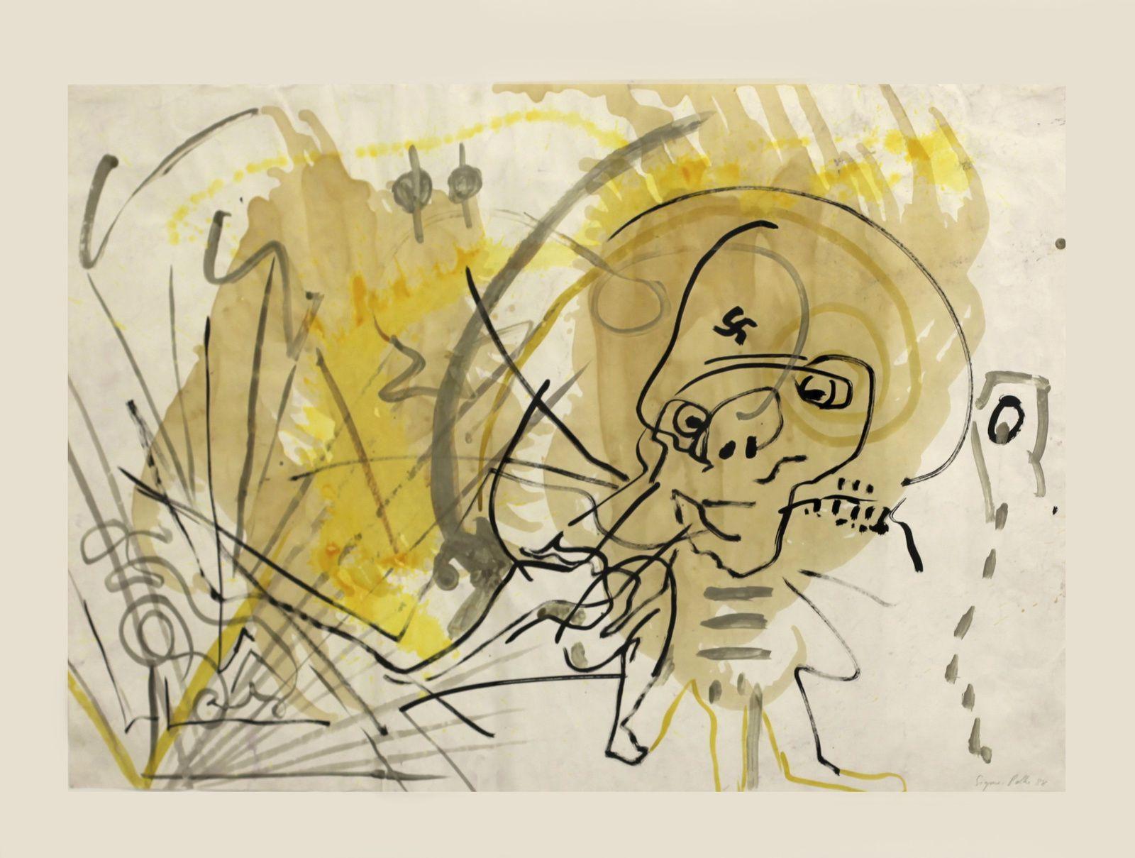 """Ohne Titel"",  1988 de Sigmar POLKE - Courtesy Galerie SUZANNE TARASIEVE © Photo Éric Simon"