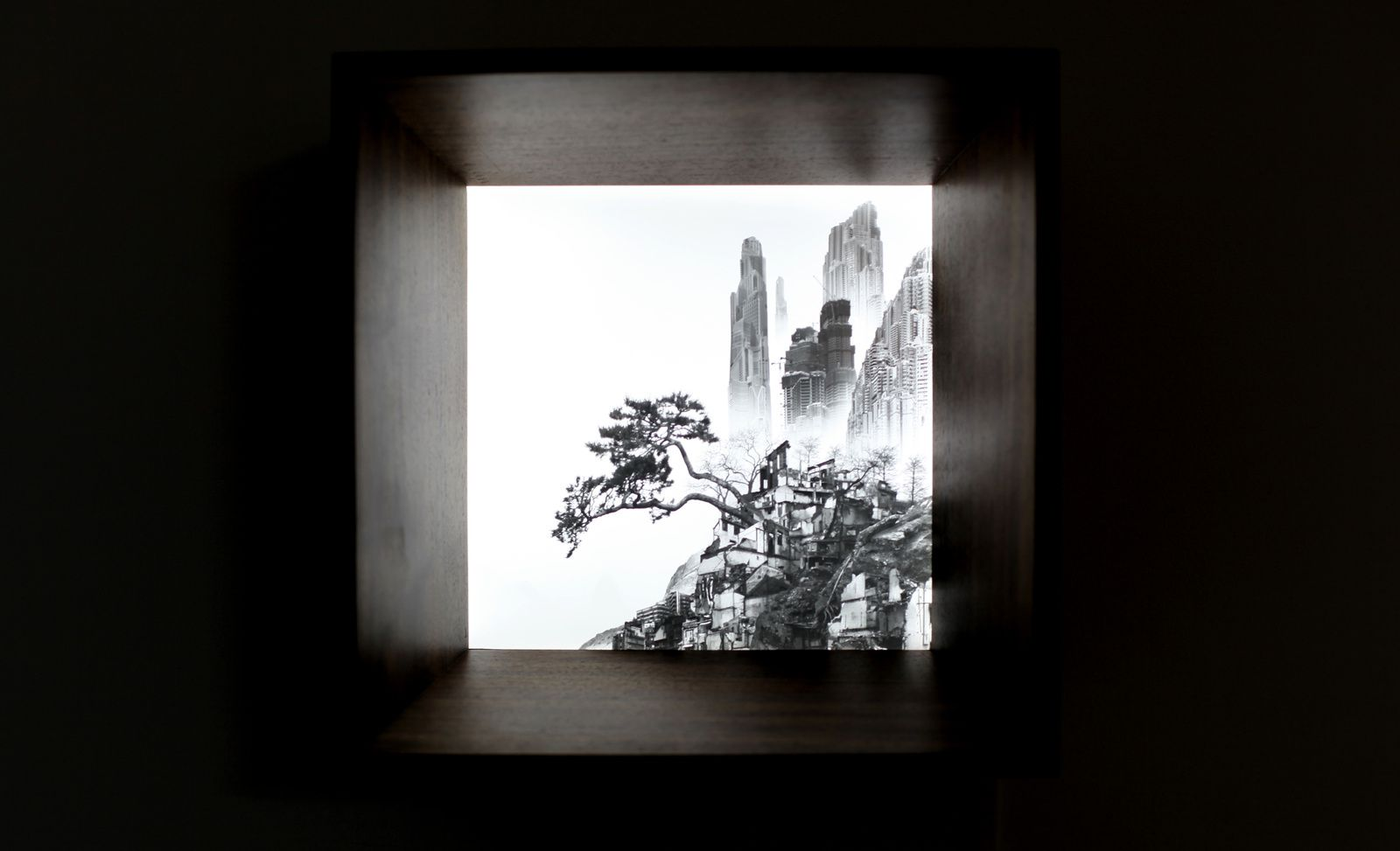Yang Yongliang - Courtesy Galerie PARIS-BEIJING © Photo Éric Simon